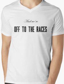 Lana Del Rey Off To The Races Mens V-Neck T-Shirt