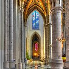 Cathedrale de Liege - Belgium by Jeremy Lavender Photography
