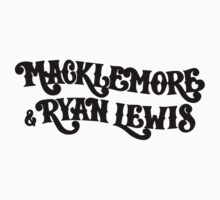 Macklemore and Ryan Lewis logo by Zed Clarity