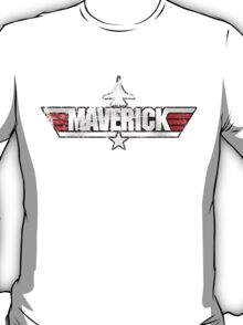 Custom Top Gun Style Style - Maverick T-Shirt