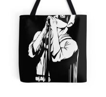 Post-Punk Dark Knight | The Shadowplay B&W Edition Tote Bag