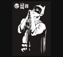 Post-Punk Dark Knight | The Shadowplay B&W Edition T-Shirt