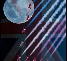 Night Flight Patriots by Steve Purnell