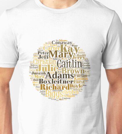 B5 Cast Unisex T-Shirt