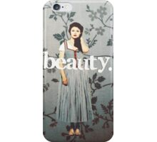 her name means beauty. iPhone Case/Skin