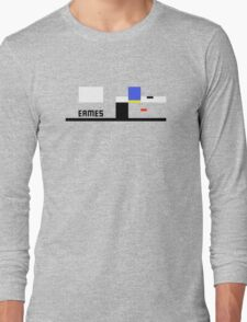 Eames House Abstract Architecture T-shirt Long Sleeve T-Shirt
