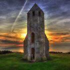 St Catherines Oratory Sunset by manateevoyager