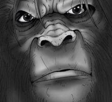 Sasquatch - The North American Mystery Ape Sticker