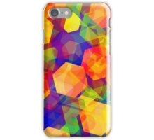 Colorful Abstract Shapes iPhone Case/Skin