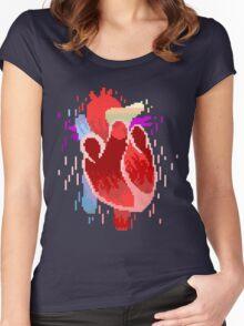 Digital Love Women's Fitted Scoop T-Shirt