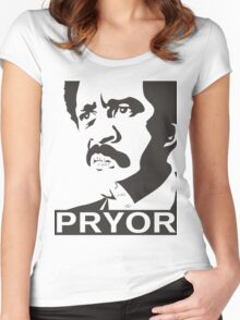 Richard Pryor Women's Fitted Scoop T-Shirt