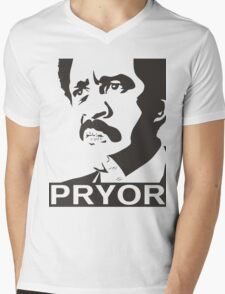 Richard Pryor Mens V-Neck T-Shirt