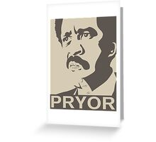 Richard Pryor Greeting Card