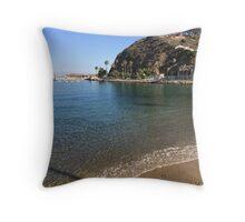 Catalina Beach Throw Pillow
