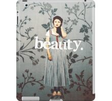 her name means beauty. iPad Case/Skin