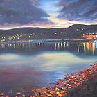 Twilight on Carlingford Lough by Marion Clarke