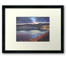Twilight on Carlingford Lough Framed Print