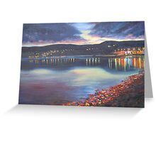 Twilight on Carlingford Lough Greeting Card