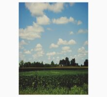 Midwest Field and Sky One Piece - Short Sleeve