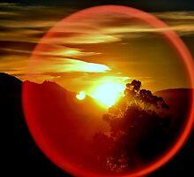 Through the Sun Spot by Deborah Clearwater