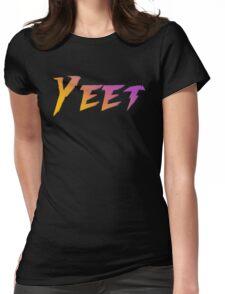 Yeet. Womens Fitted T-Shirt