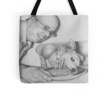 Service With a Smile Tote Bag