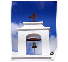 Church Bell Tower Lanzarote Poster