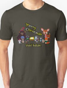 Woodland Critter Christmas Unisex T-Shirt