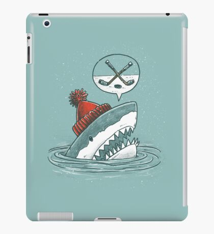 The Hockey Shark iPad Case/Skin