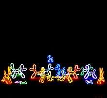 The Neon Dogs by Fara