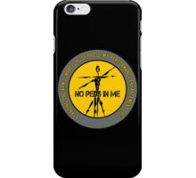 Standing One-Arm Dumbbell Push Press - My Performance Enhancement Drug iPhone Case/Skin