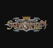 #ol Swords and Sorcery Sovereign black logo t-shirt tshirt shirt by derogerdi8967