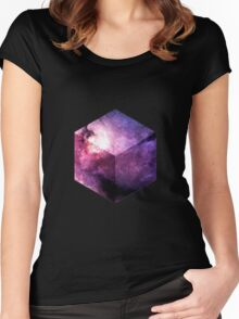Universe Cube Women's Fitted Scoop T-Shirt