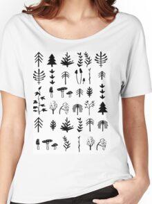 Autumn Pattern Women's Relaxed Fit T-Shirt