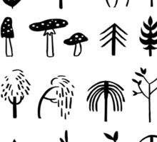 Autumn Pattern Sticker