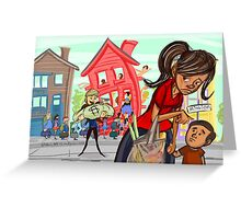 Gentrification in the Mission! Greeting Card