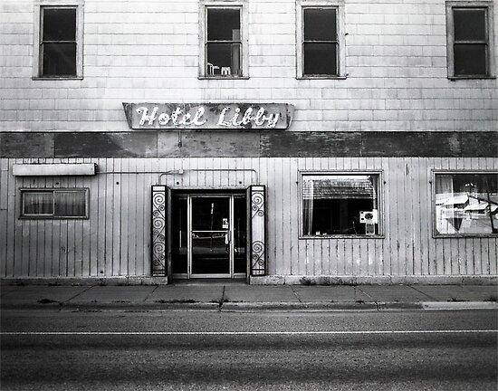 Hotel Libby Photograph by Katya laRoche