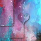 Love Abstract 47- wall Art by haya1812