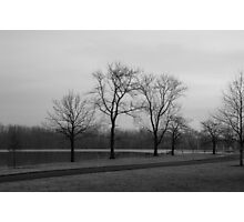 A Cold and Grey December Photographic Print