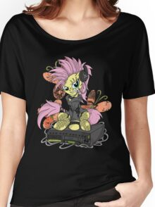 Fluttershy PonyROCK Women's Relaxed Fit T-Shirt