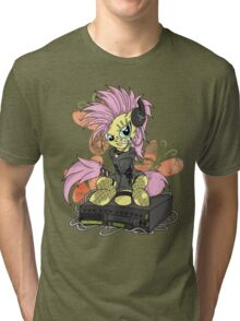 Fluttershy PonyROCK Tri-blend T-Shirt