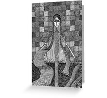 The Dropstitch Witch from The Neverwas Greeting Card