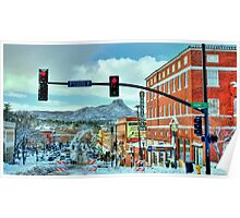 After A Snowstorm In Prescott Arizona  Poster