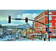 After A Snowstorm In Prescott Arizona  Photographic Print