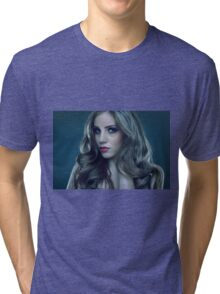 Beauty model Tri-blend T-Shirt