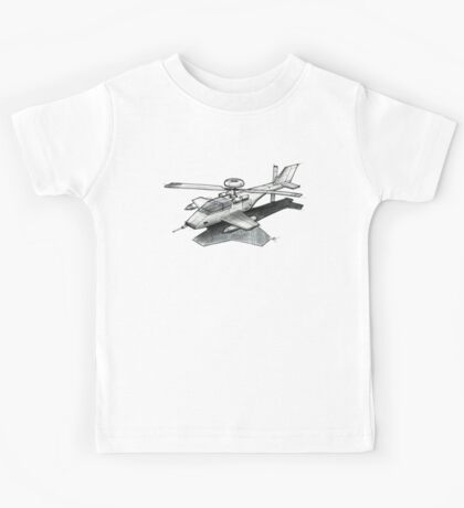 Apache Helicopter Kids Tee