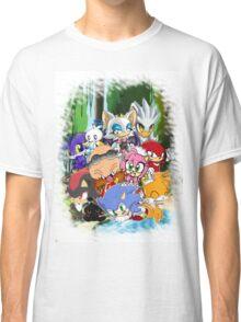 Sonic chibi Classic T-Shirt