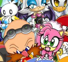 Sonic chibi Sticker