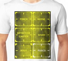 Heroes of Interest sticker alternative Unisex T-Shirt