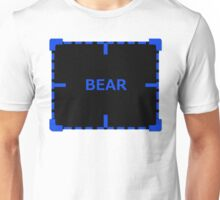 Bear of Interest sticker alternative Unisex T-Shirt